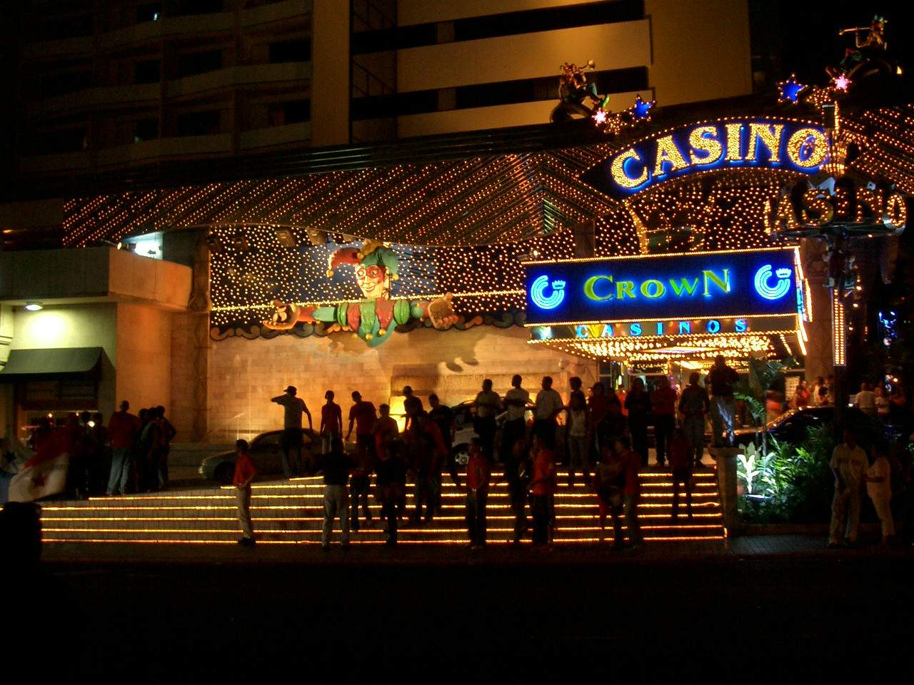Crown casino panama city